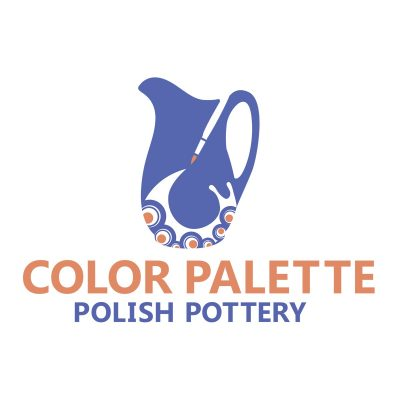 Color Palette Polish Pottery Logo