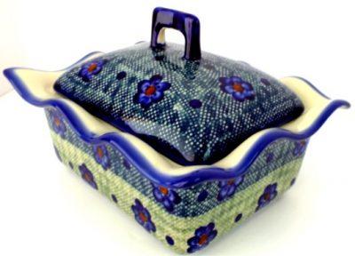 Polish Pottery rectangular baker lid