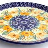 Polish Pottery Lunch plate