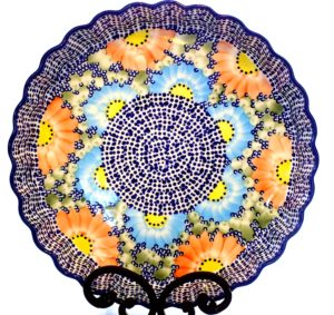 Polish Pottery Quiche Dish