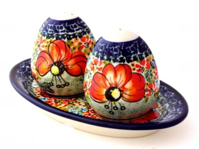 Polish Pottery salt & Pepper
