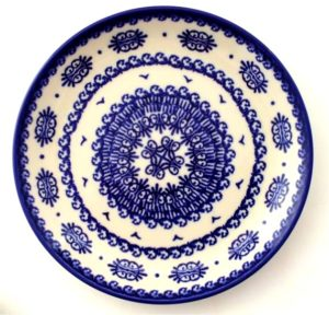 lunch plate Polish Pottery