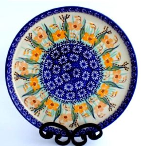 Polish Pottery Cookie Tray
