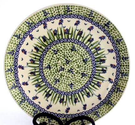 Polish Pottery stoneware 10 inch dinner plate  sc 1 st  Color Palette Polish Pottery & Color Palette Polish Pottery 10