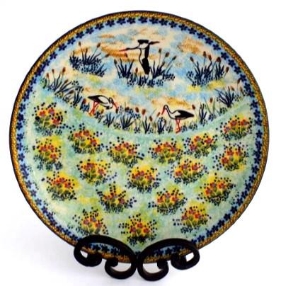 Polish Pottery stoneware 10 inch dinner plate  sc 1 st  Color Palette Polish Pottery & Color Palette Polish Pottery 10\