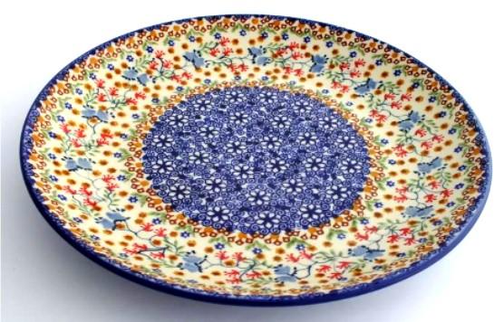 ... Polish Pottery stoneware 10 inch dinner plate  sc 1 st  Color Palette Polish Pottery & Color Palette Polish Pottery 10