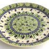 Polish Pottery stoneware 10 inch dinner plate