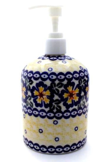 Polish Pottery Soap Pump
