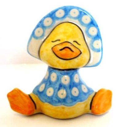 Polish Pottery Baby Duck