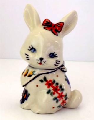 Polish Pottery Bunny