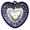 Polish Pottery heart bowl