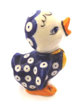 Polish Pottery wing duck