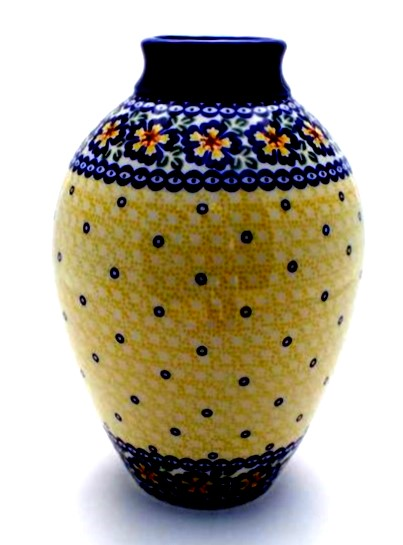 Color Palette Polish Pottery 11 Amfora Vase Color Palette Polish