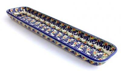 Polish Pottery Cracker Tray