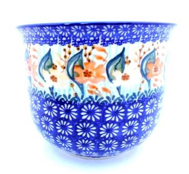 Polish Pottery Flower Pot