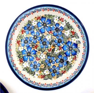 Polish Pottery Zaklady Dinner Plate