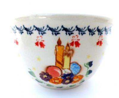 """Polish Pottery Zaklady 6"""" Serving Bowl"""
