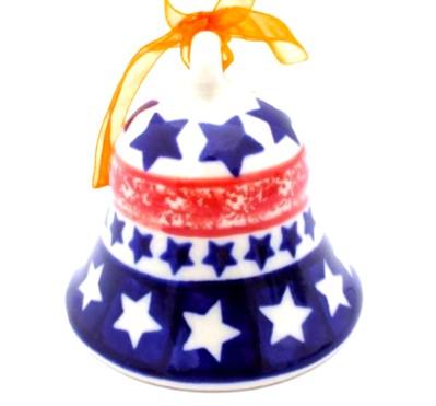 Polish Pottery Bell small Vena