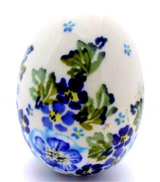 Polish Pottery Easter Egg ZL