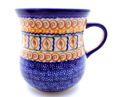 Polish Pottery 17 oz curve mug
