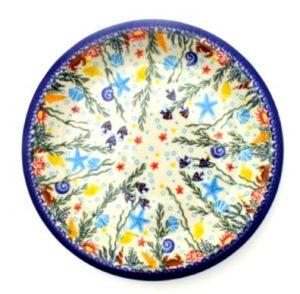 Polish Pottery Vena Dinner plate