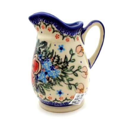 Color Palette Polish Pottery 12 Oz Creamer Jug Unikat Vena