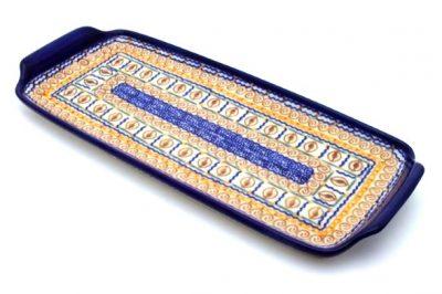 Polish Pottery Rectangular Tray
