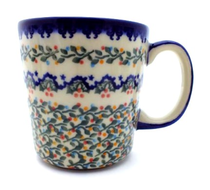 Color Palette Polish Pottery 16 oz Stoneware Mug-Unikat-Vena - Color ...