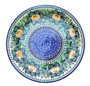 polish pottery plate